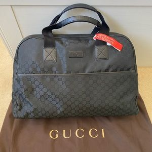 **AUTHENTIC GUCCI TRAVEL BAG**